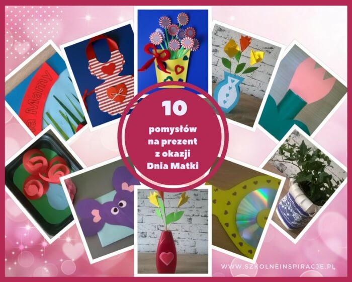 10 pomysłów naprezent zokazji Dnia Matki zamiast laurki