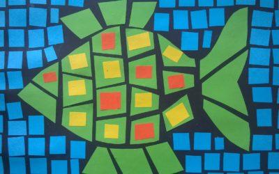 Geometryczne witraże