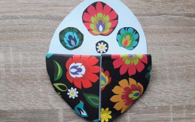 Wielkanocna praca plastyczna dla dzieci – zakładka do książki