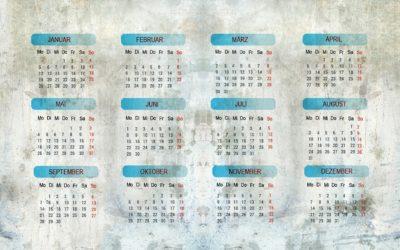 Kalendarz nietypowych świąt w szkole