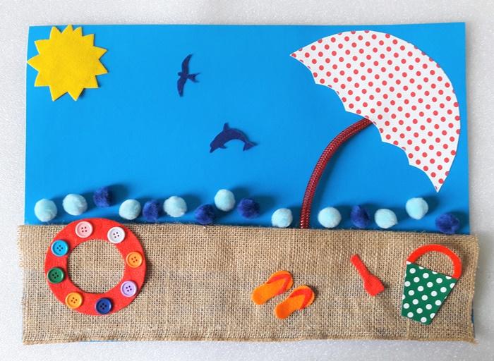 Żegnaj lato – plastyczne zabawy zfakturą