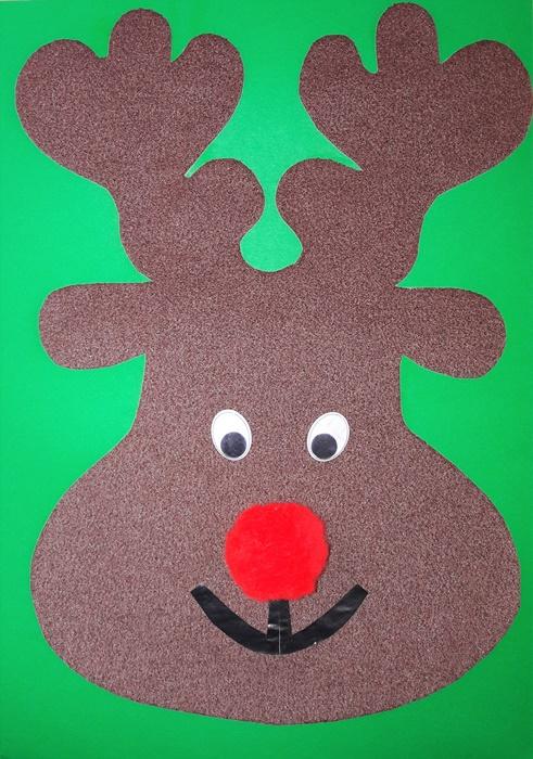 praca plastyczna naBoże Narodzenie