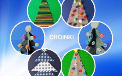 Choinka – praca plastyczna