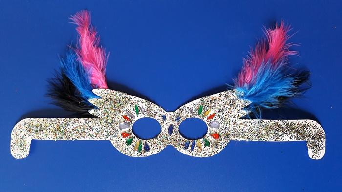 Karnawałowe okulary