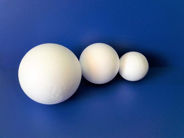 Wielkanocny kogucik - styropianowe kule