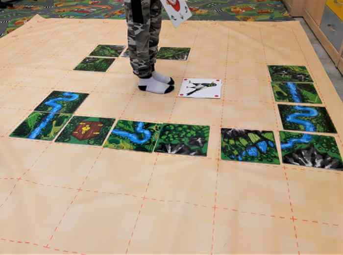 Klucz do programowania dla dzieci - gra dywanowa