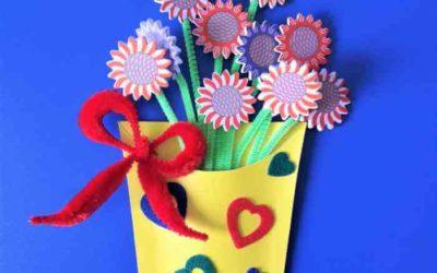 Kwiatki wwazoniku dlaMamy