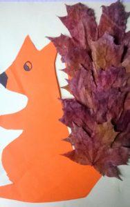 Jesienna wiewiorka
