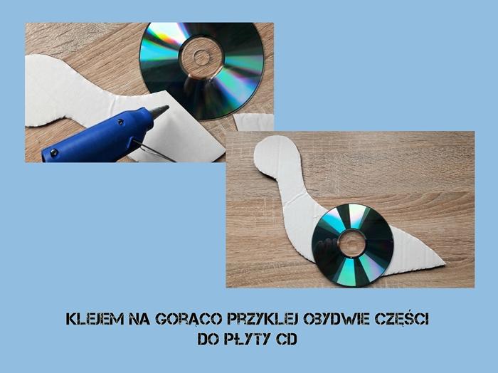 bocian zpłyty CD