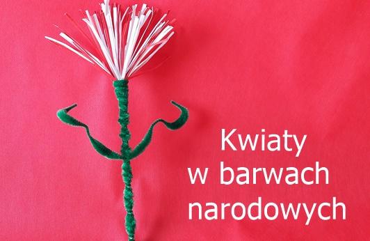 Kwiaty wbarwach narodowych