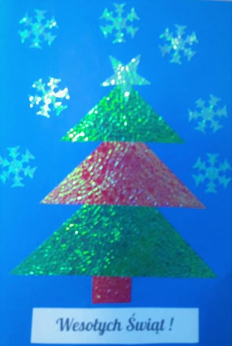 Prace plastyczne naBoże Narodzenie