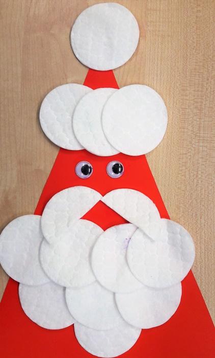 Prace plastyczne dla dzieci naBoże Narodzenie -