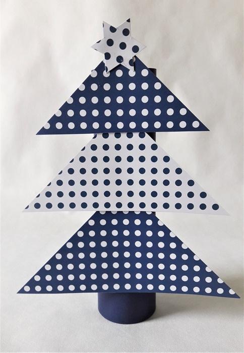 choinka - praca plastyczna
