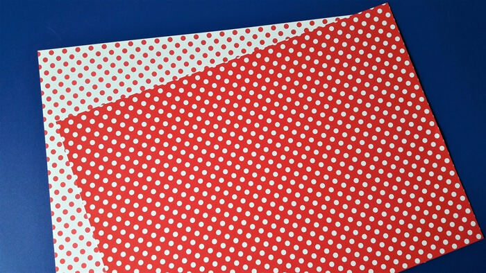 Praca plastyczna nawalentynki - papier wgroszki