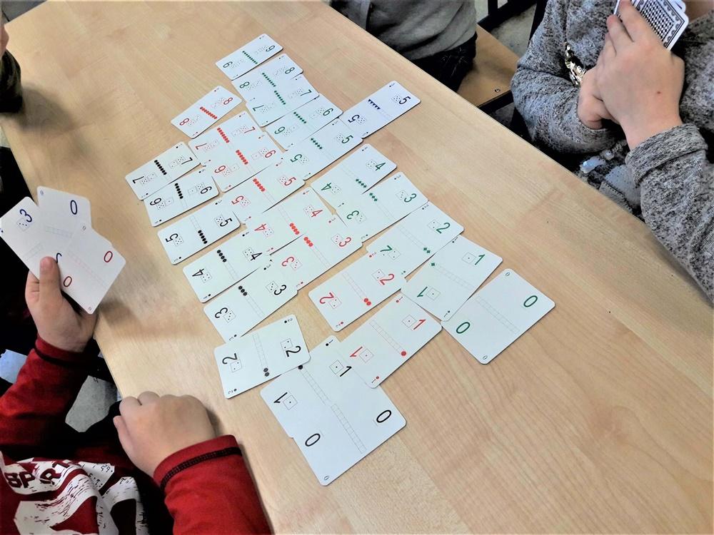 Karty Grabowskiego - Domino matematyczne