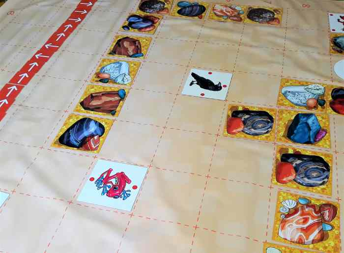 Klucz doprogramowania dladzieci - gra dywanowa zKrabem