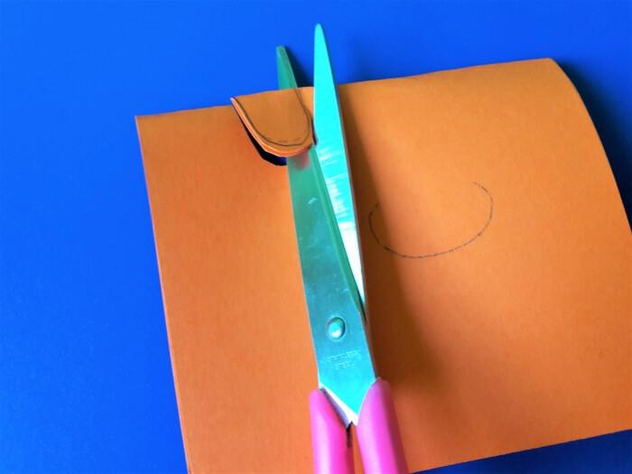 Ludzik z papieru - wycinanie