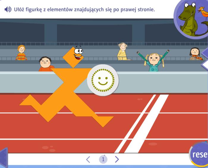 Zabawy interaktywne - nagroda zaprawidłową odpowiedź