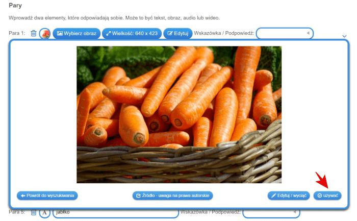 Multimedialne pomoce dydaktyczne-wybierz obraz