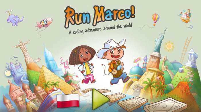 Programowanie blokowe dladzieci – Run Marco