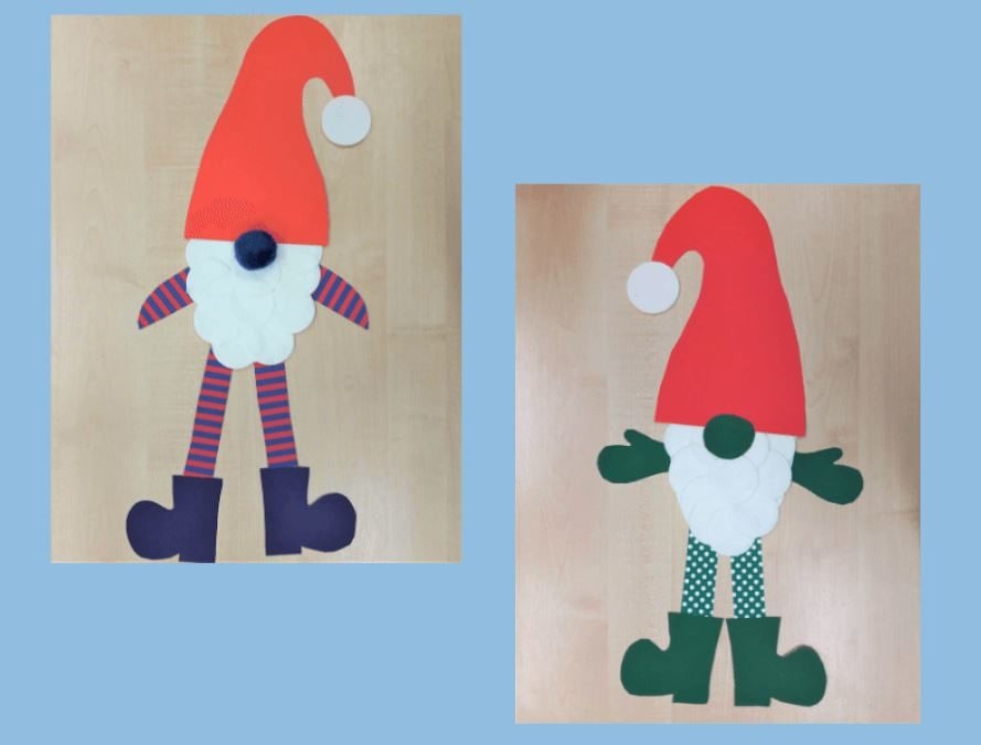 Skrzaty – świąteczna praca plastyczna