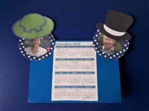 Kalendarz dla Babci i Dziadka-wykonanie