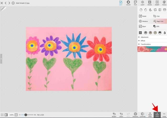 Jak zmienić rozmiar zdjęcia?-program Photoscape