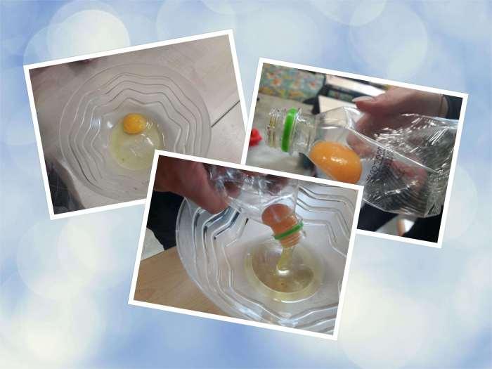 Wielkanocny eksperyment - jajko wbutelce.