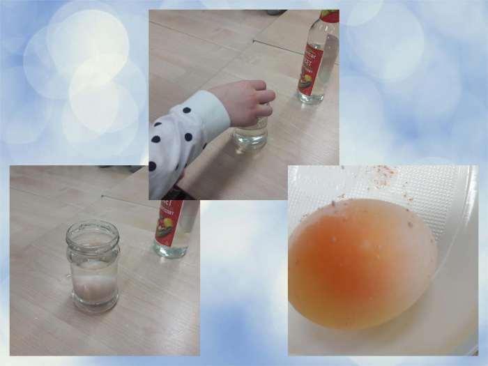 Wielkanocny eksperyment - Skaczące jajko