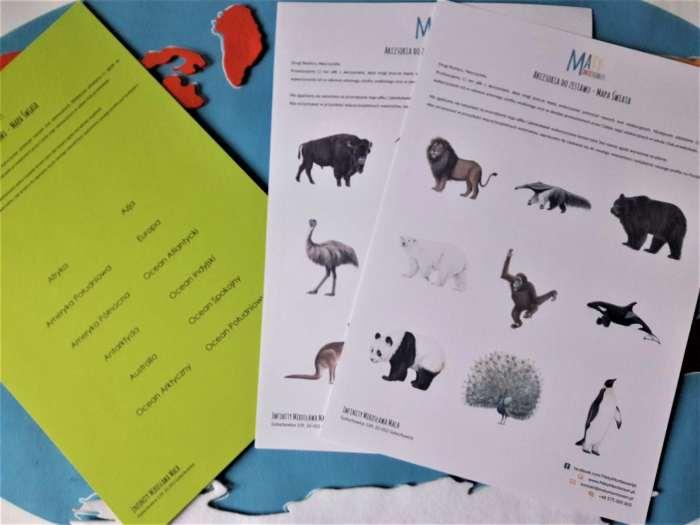 Zwierzęta kontynentów