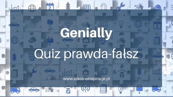 Interaktywny quiz PRAWDA-FAŁSZ