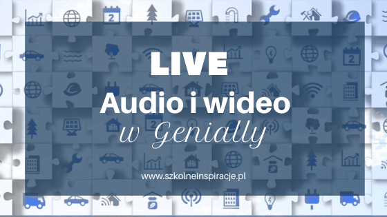 Audio i wideo w Genially
