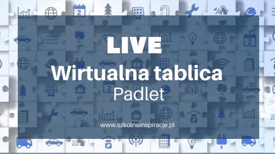 Wirtualna tablica - Padlet