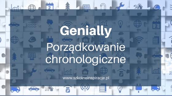 Genially-porządkowanie chronologiczne