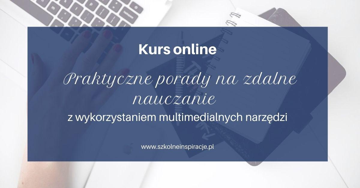 Zdalne nauczanie-kurs online