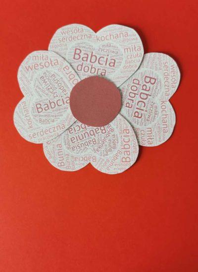 Kwiatek dlaBabci-płatki